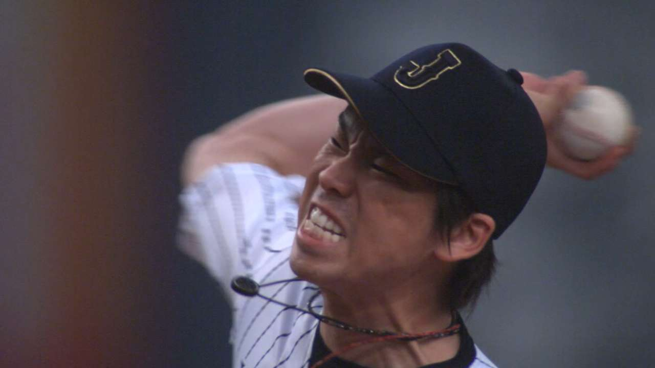 Japanese star righty Maeda reportedly will not be posted