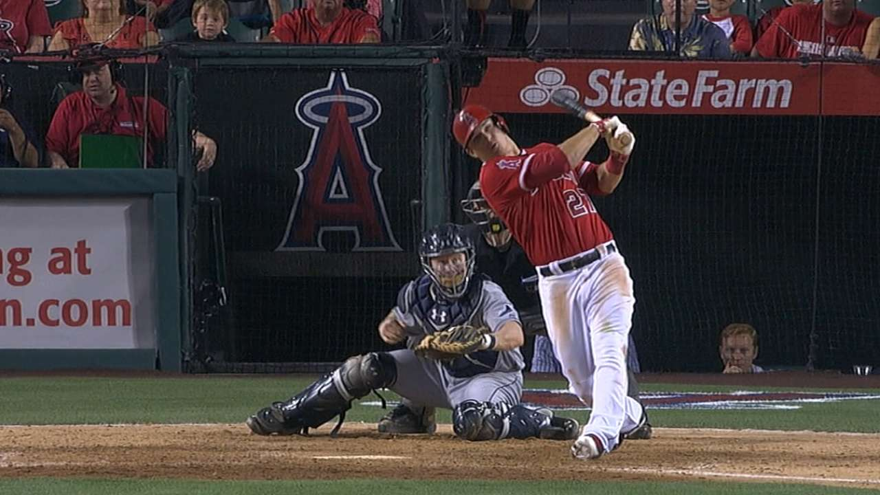 By any metric, Trout's 2014 was a year for the ages
