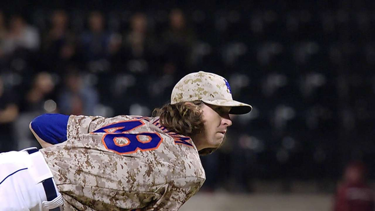 deGrom on being named NL ROY