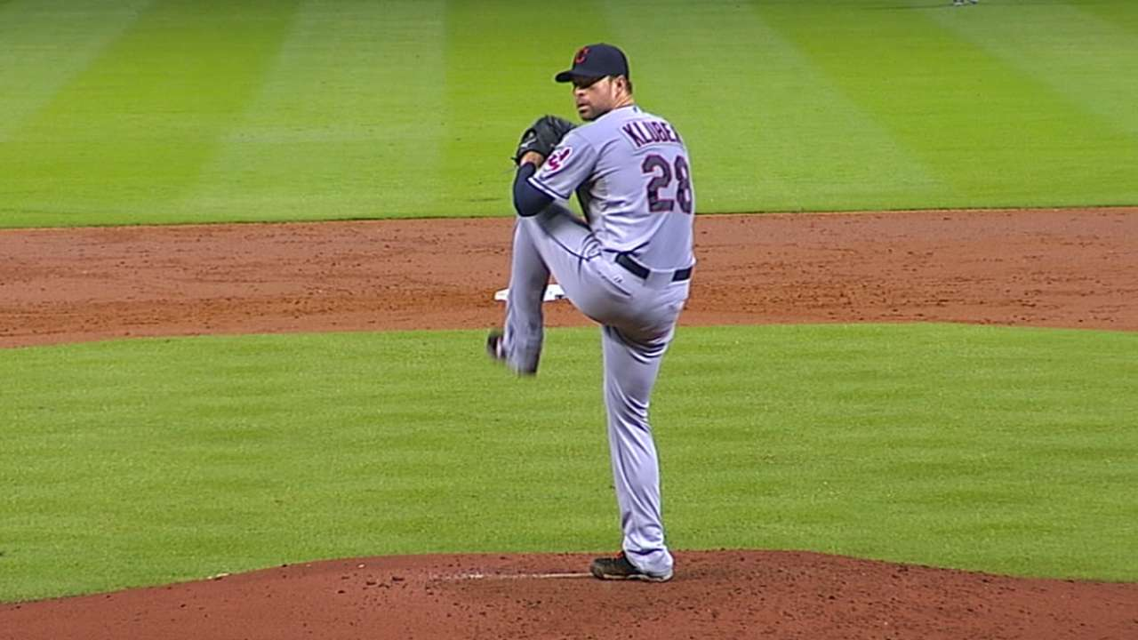 Castrovince on Kluber's Cy Young
