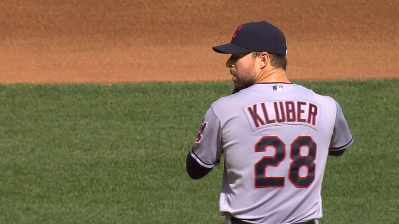 Kluber on winning Cy Young Award