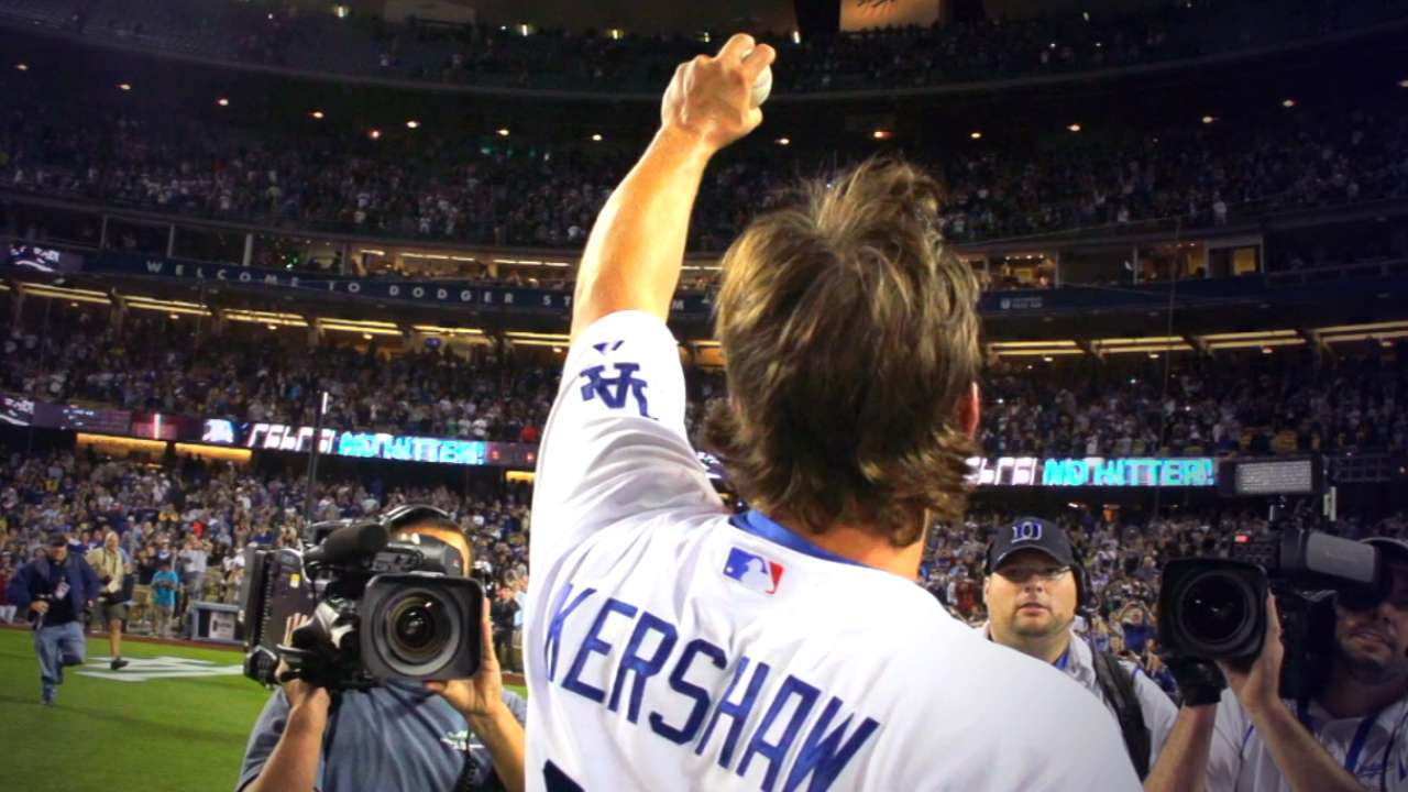 Congratulations, Clayton Kershaw