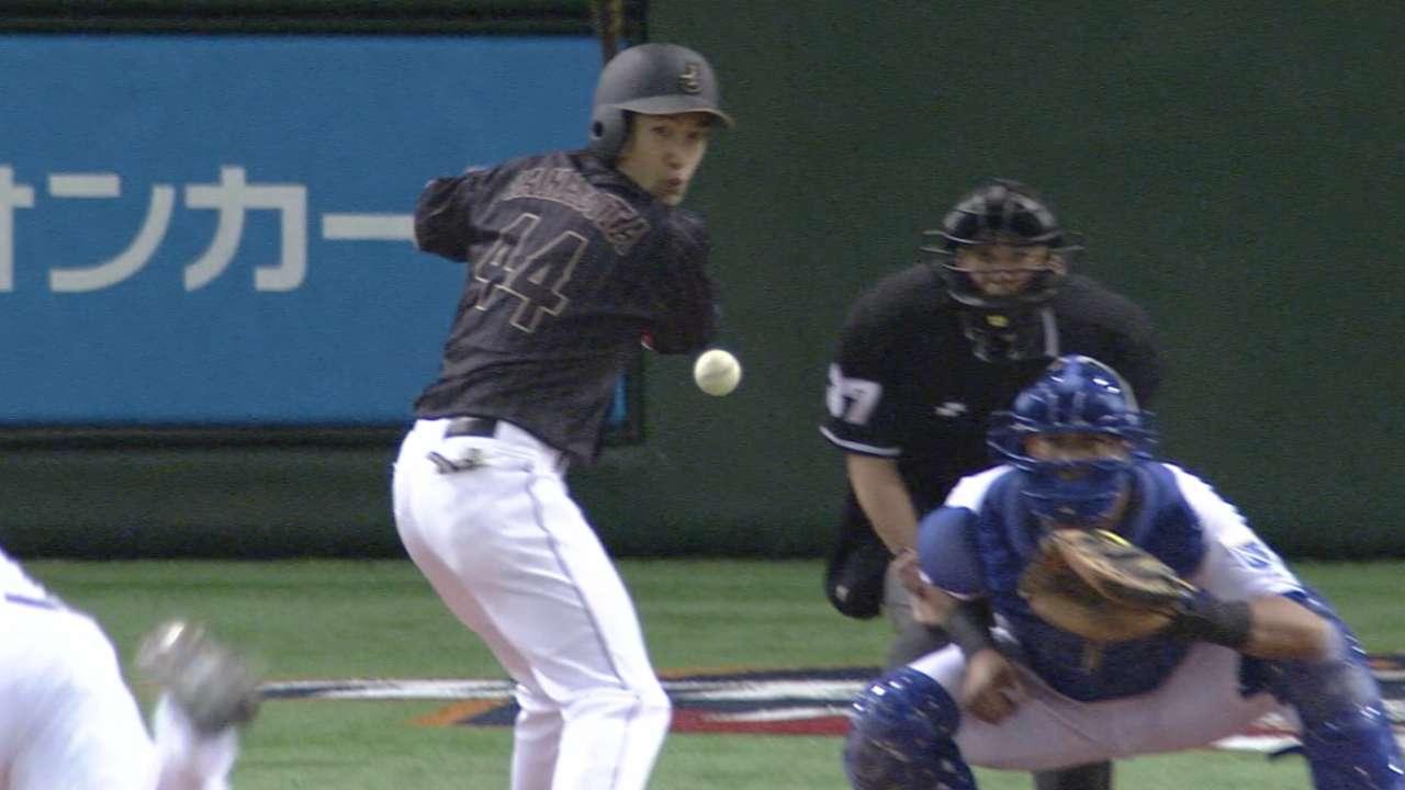 Japan's three-run inning