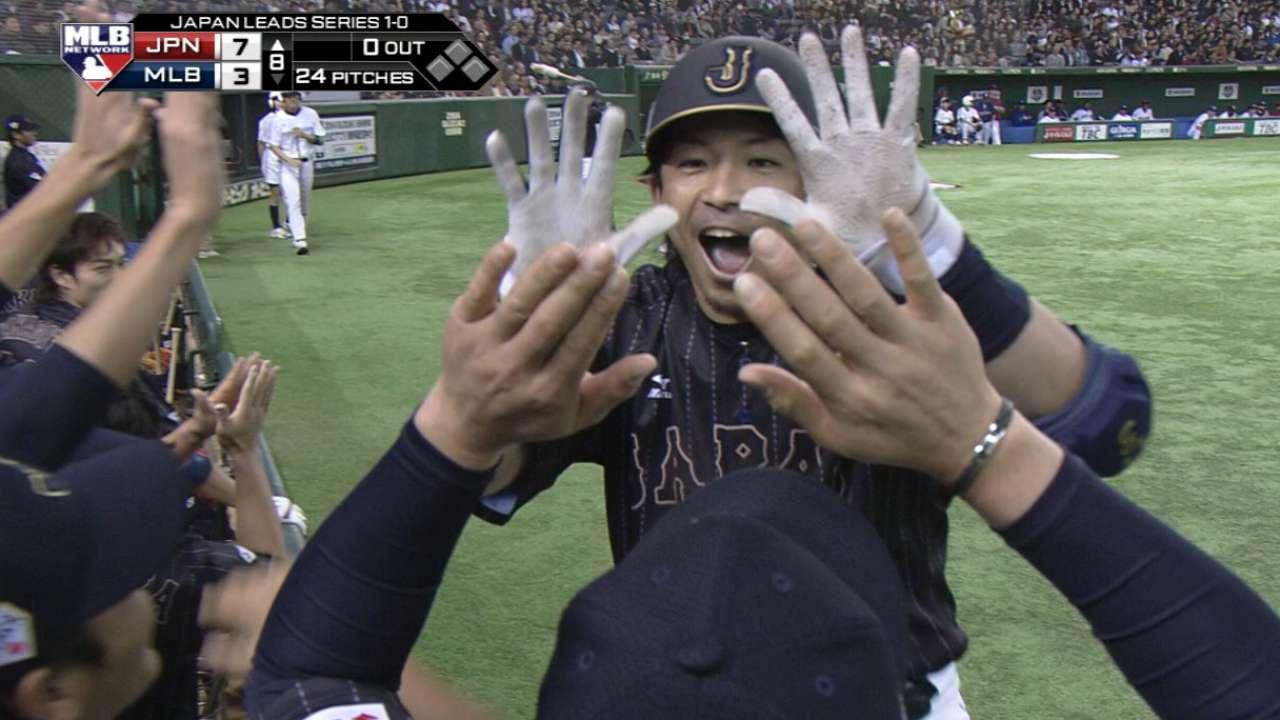 Japón volvió a dominar, esta vez con los bates
