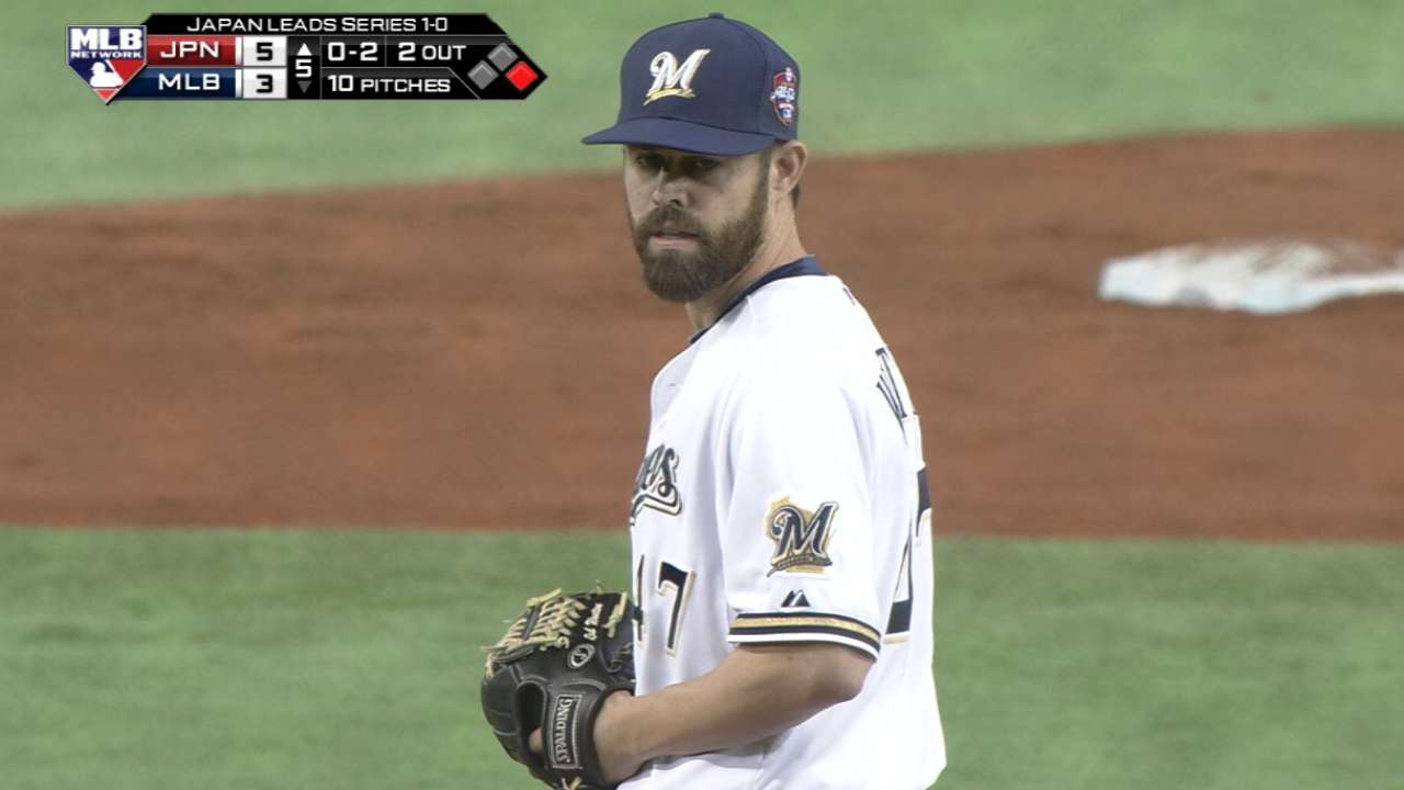 Wooten strikes out Matsuda