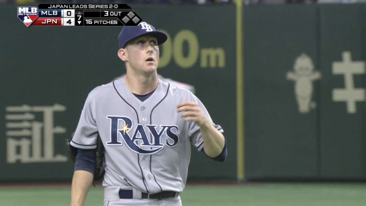 Beliveau, Elmore outrighted by Rays, hit free agency