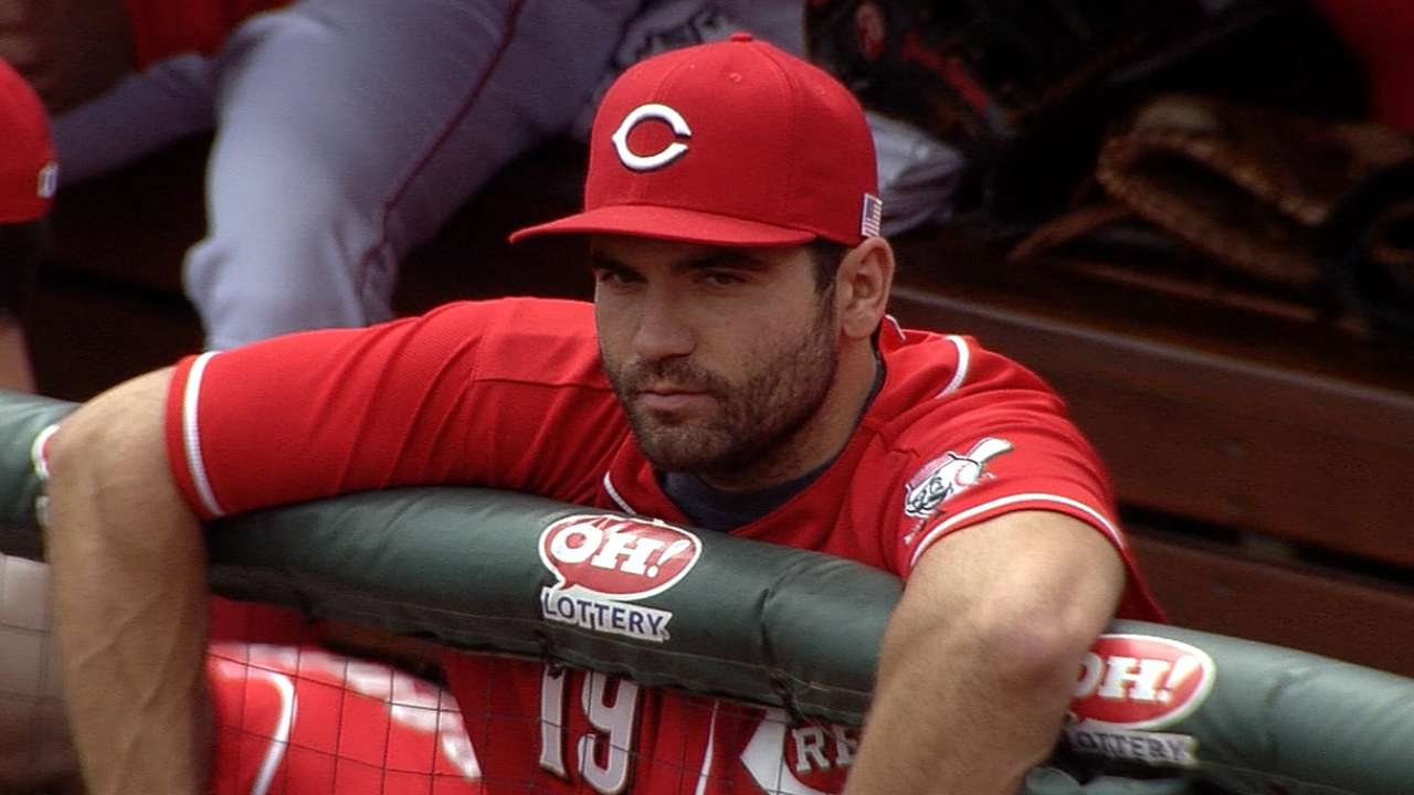 Votto making progress with rehab from quad injury
