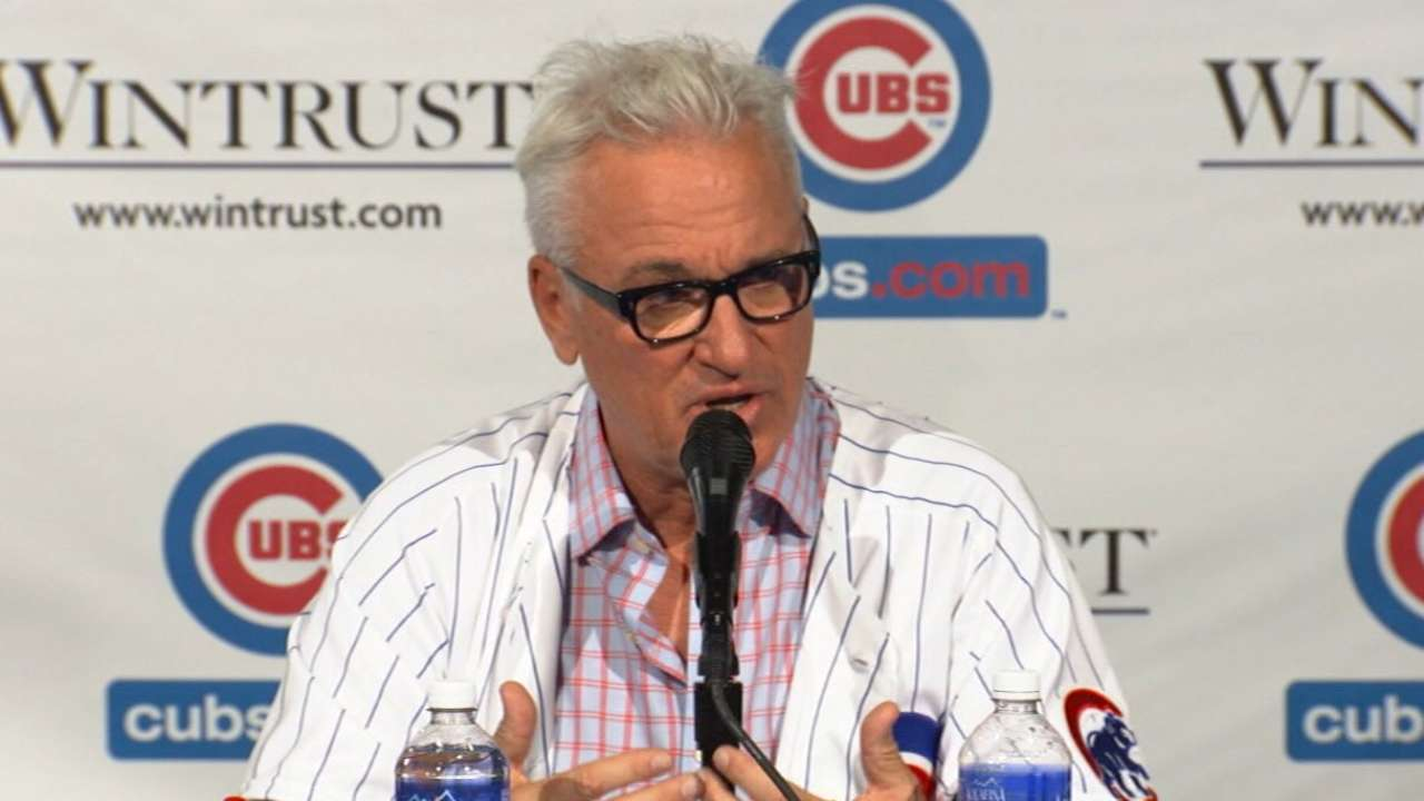 Cubs could add to Maddon's roster at Meetings