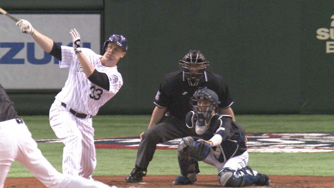 Reaccionaron los de MLB para ganar su 1ro en Japón