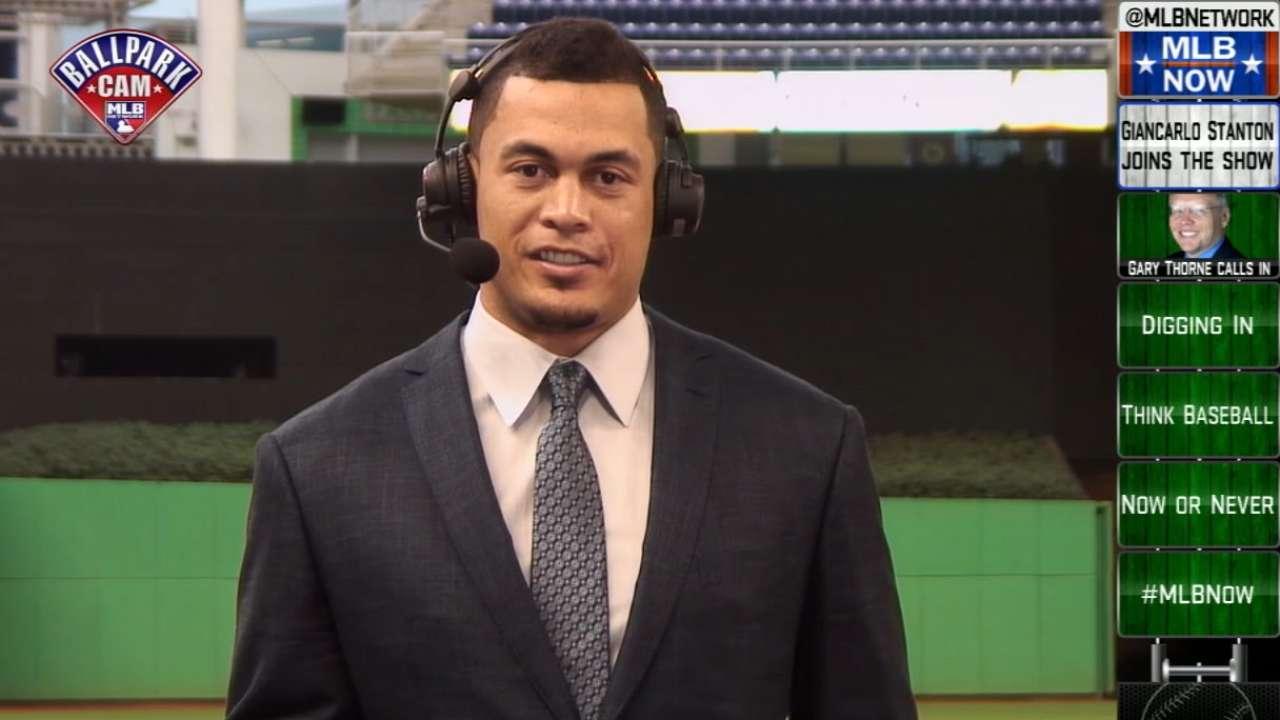 MLB Now: Giancarlo Stanton