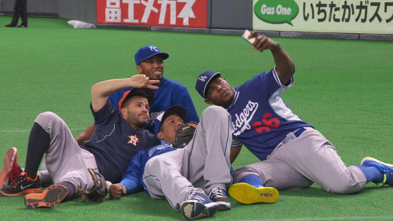 Altuve se destacó en la recta final de la serie en Japón