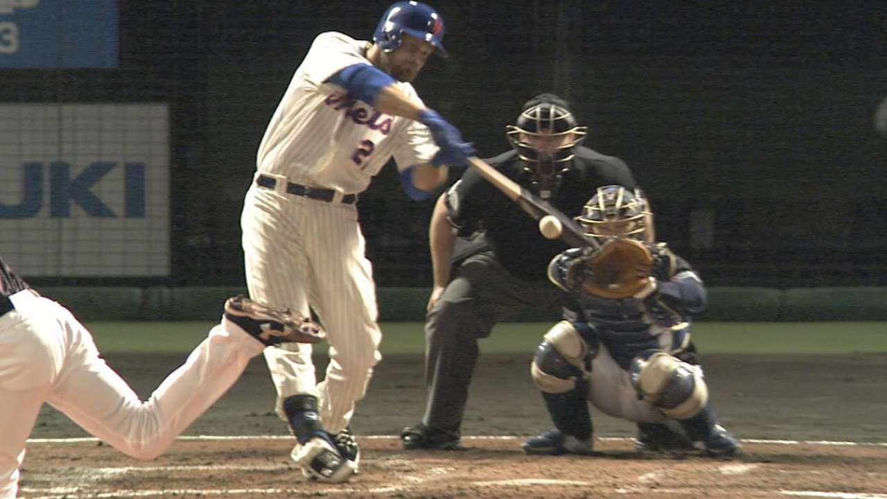 Duda perfect at the plate