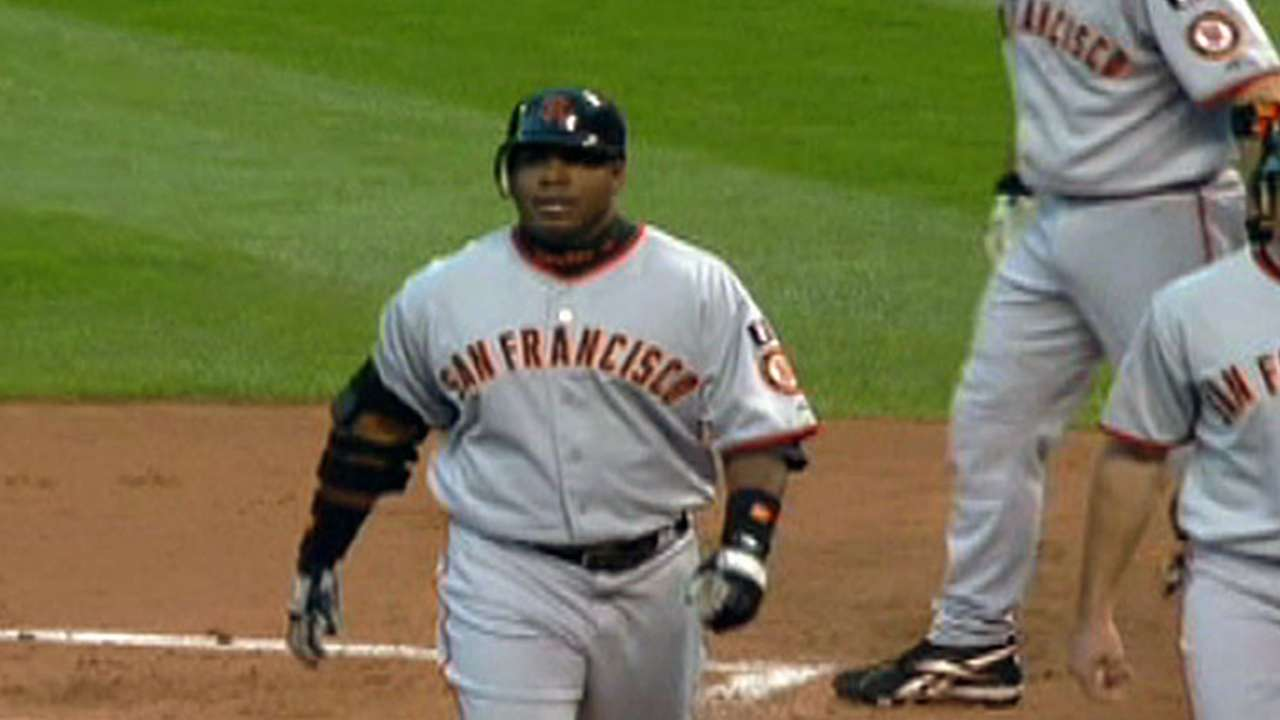 Bonds' final home run