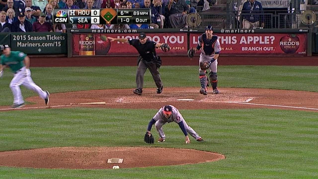 Astros outright Downs, Petit to Triple-A Fresno