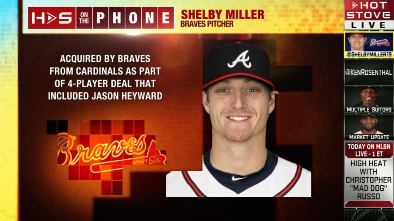 Miller on Hot Stove