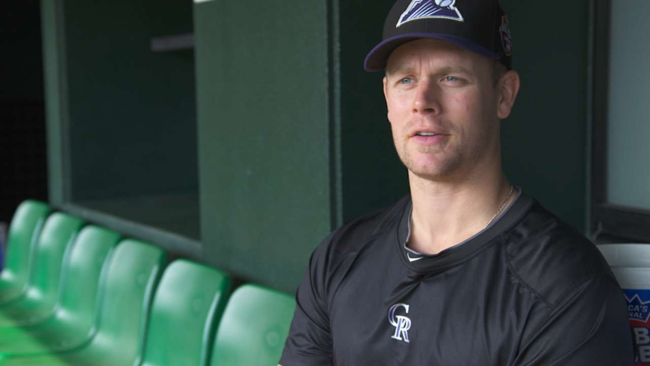 Morneau reflects on Japan Series