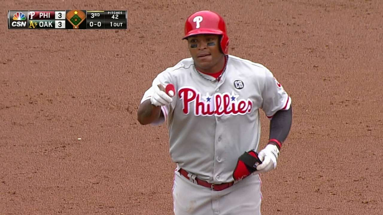 Zolecki on Phillies' outfield