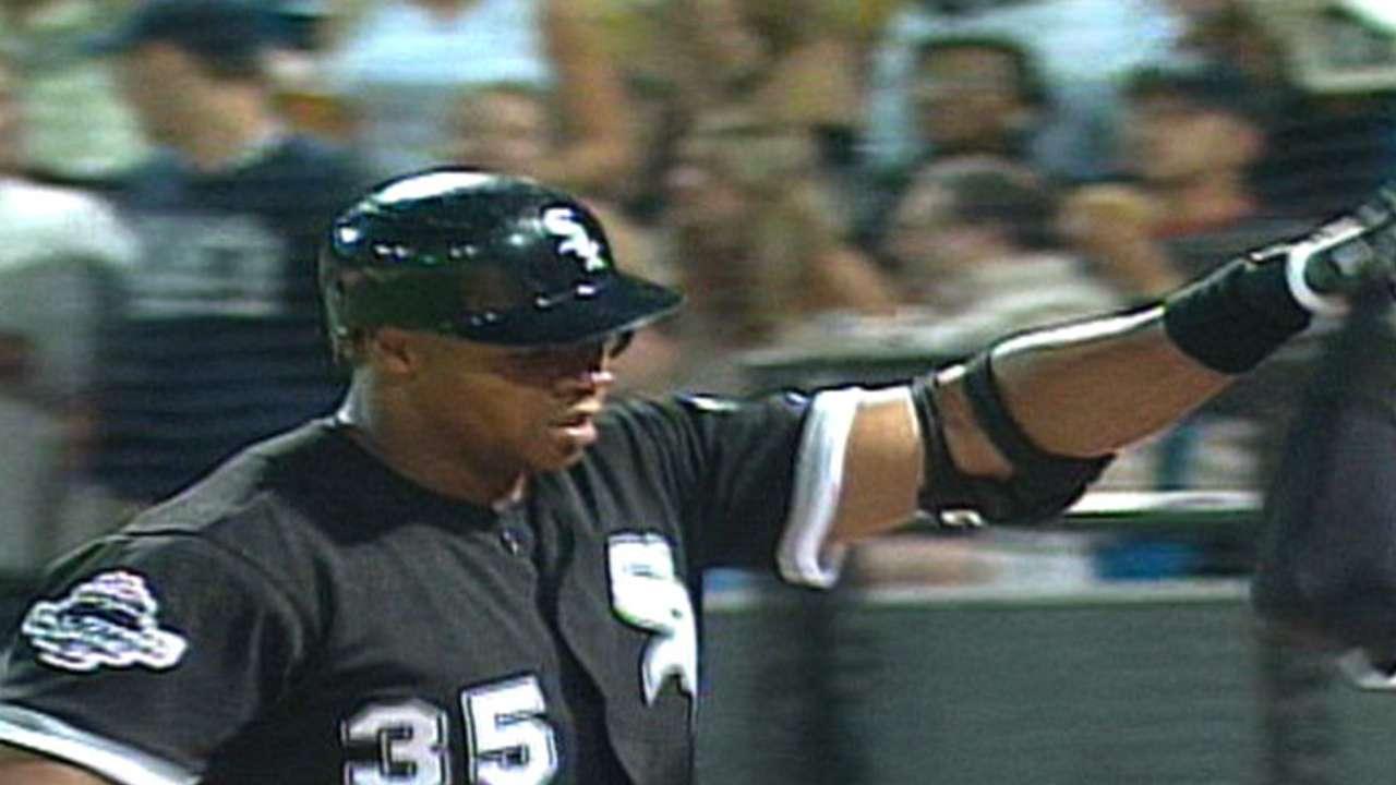 Frank Thomas' 400th home run
