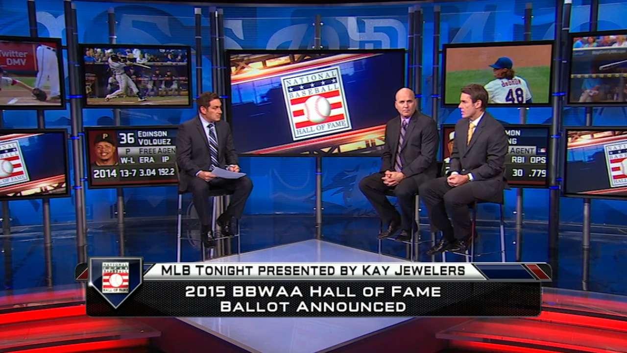 MLB Tonight on 2015 HOF ballot