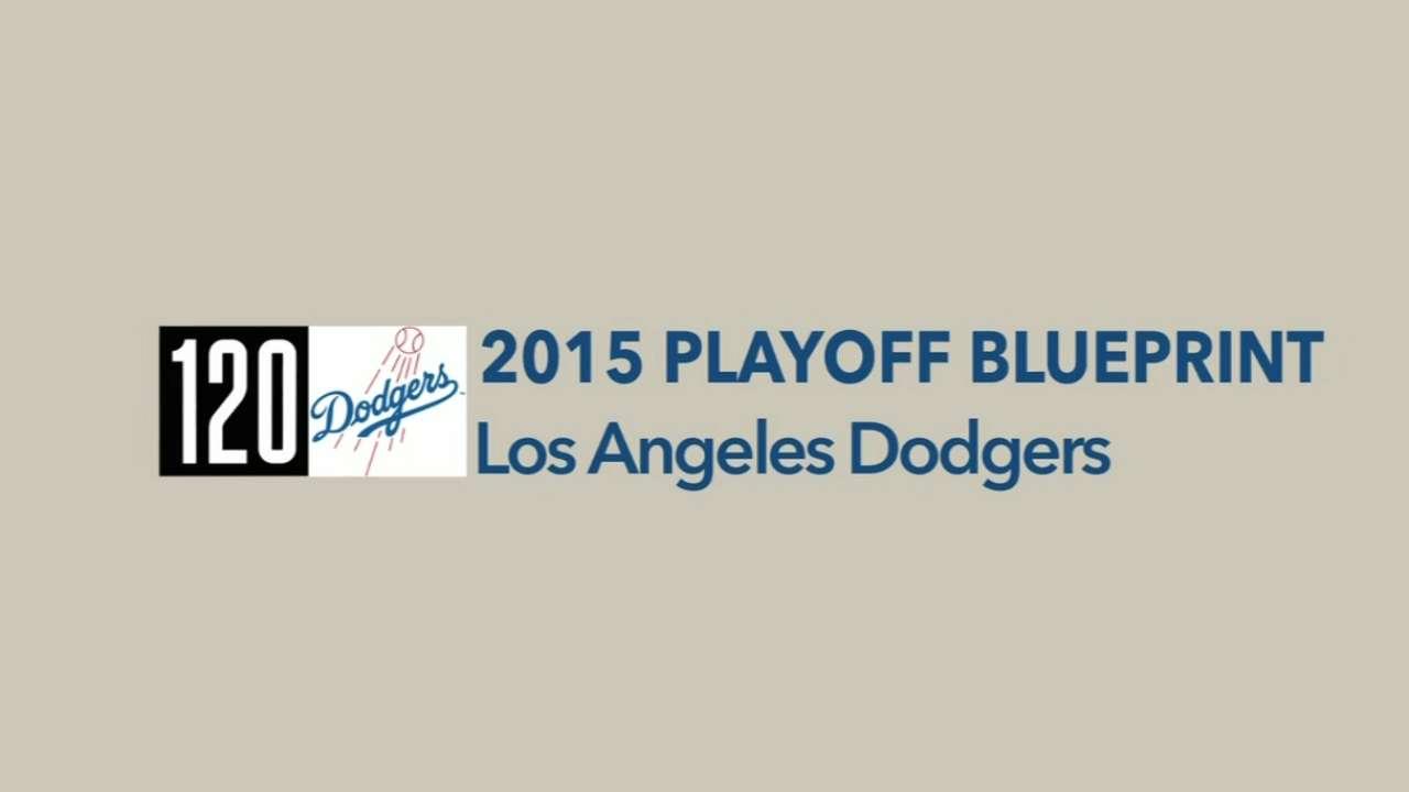 2015 Playoff Blueprint: LAD