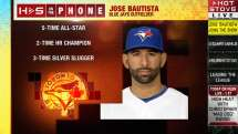 Bautista discusses offseason plans on Hot Stove