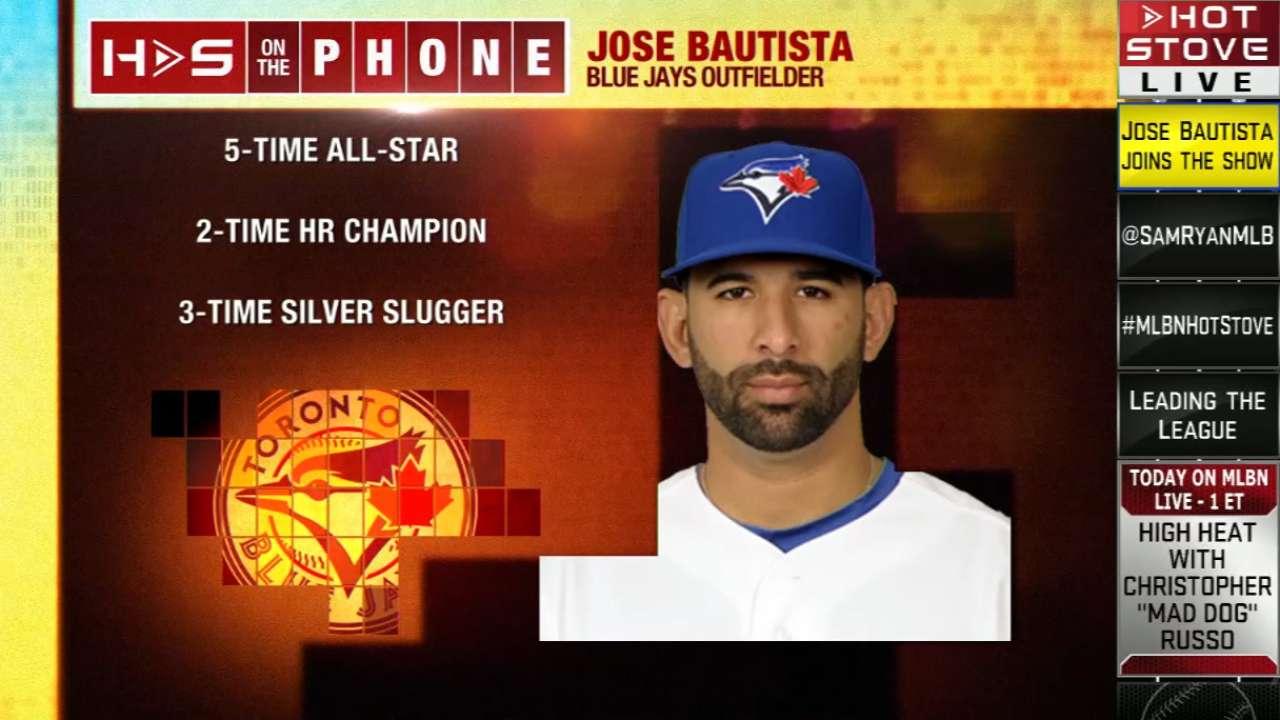 Bautista headlines Blue Jays' annual award winners