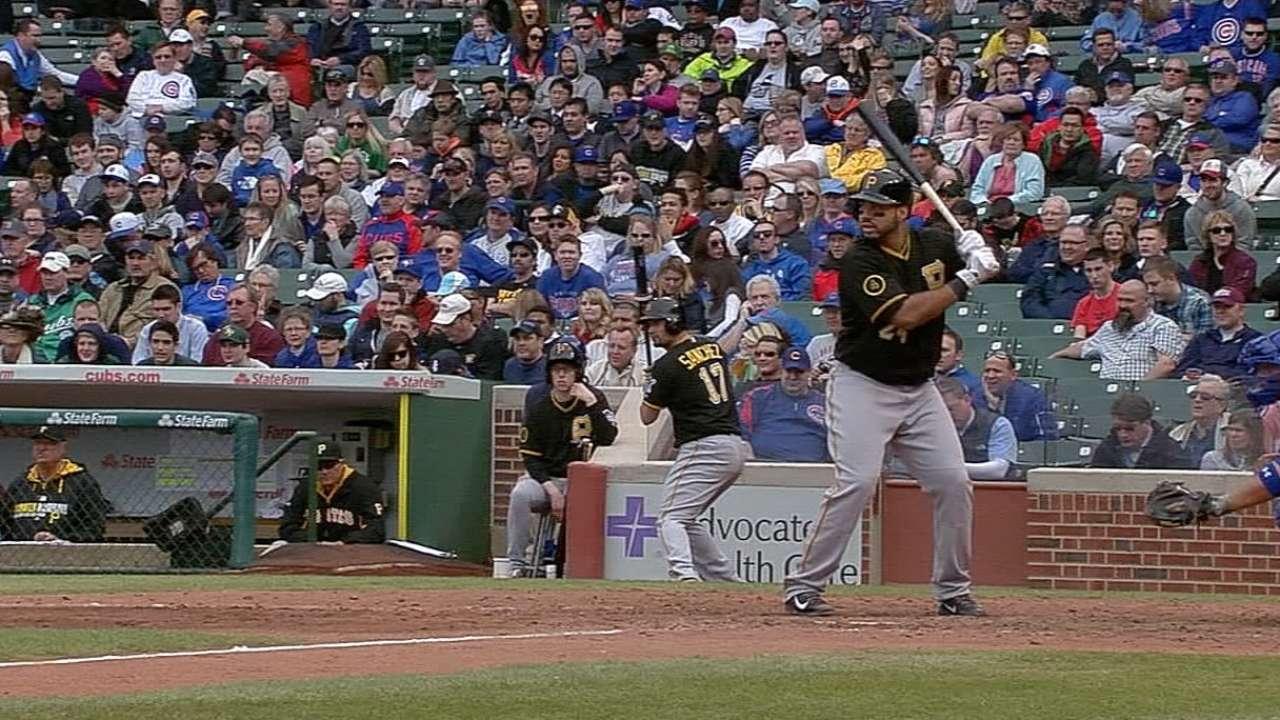2014 Long Home Runs: Pirates