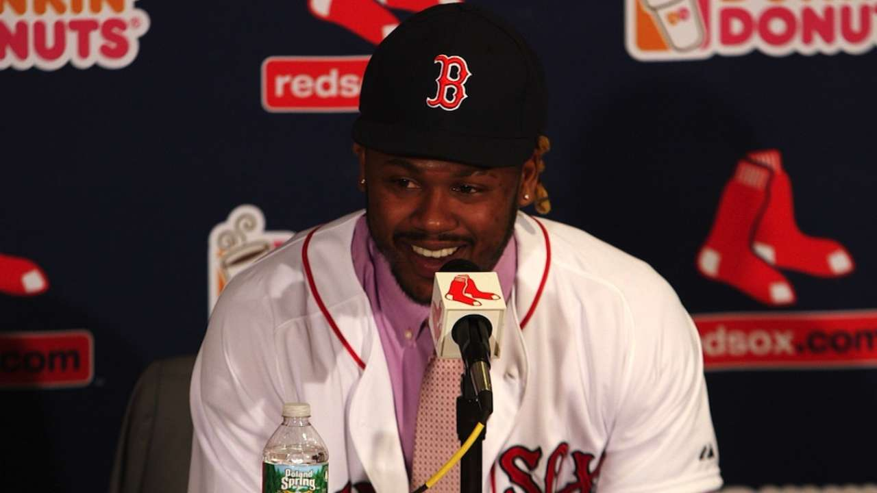 How will Red Sox handle glut of outfielders?