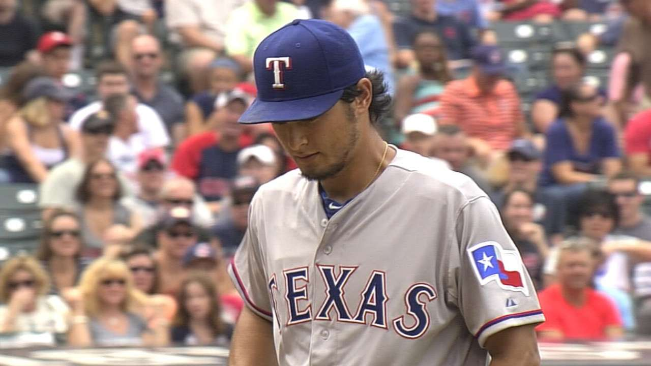 Darvish cleared to throw