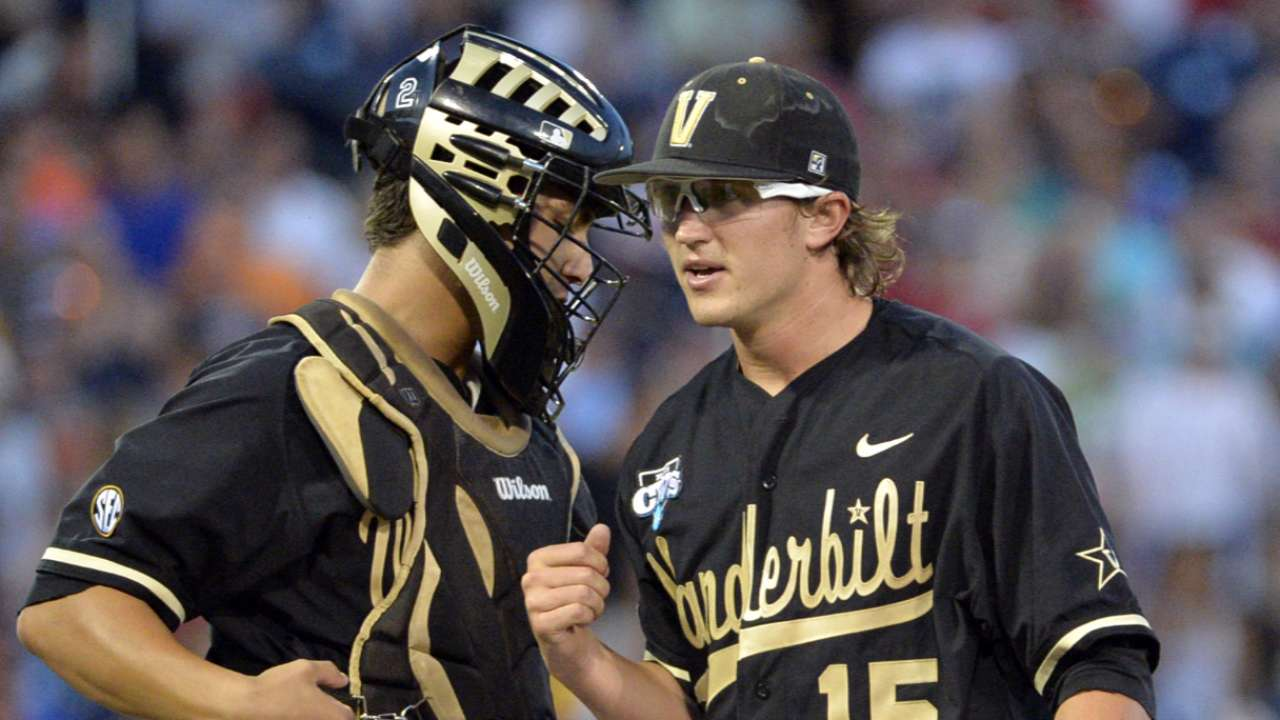 2015 Draft: Carson Fulmer, P