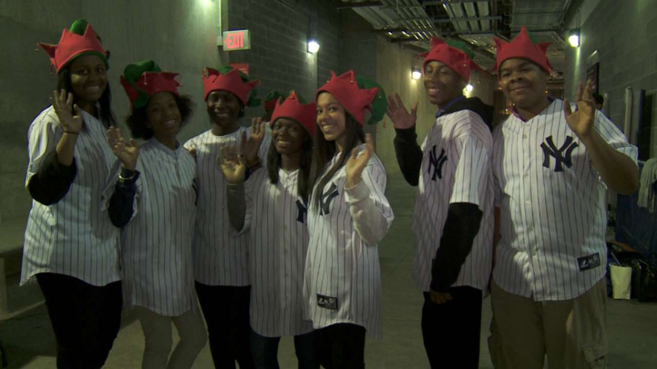 Jeter's Leaders give back