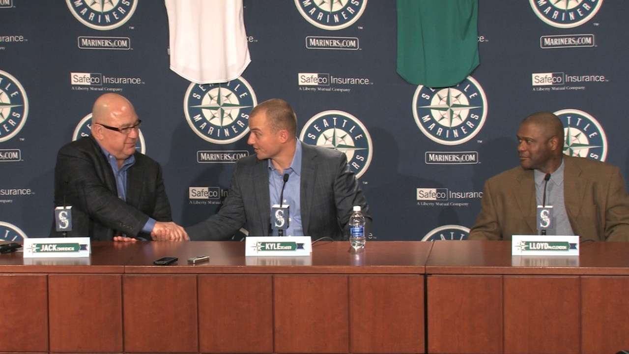 Mariners announce Seager's deal