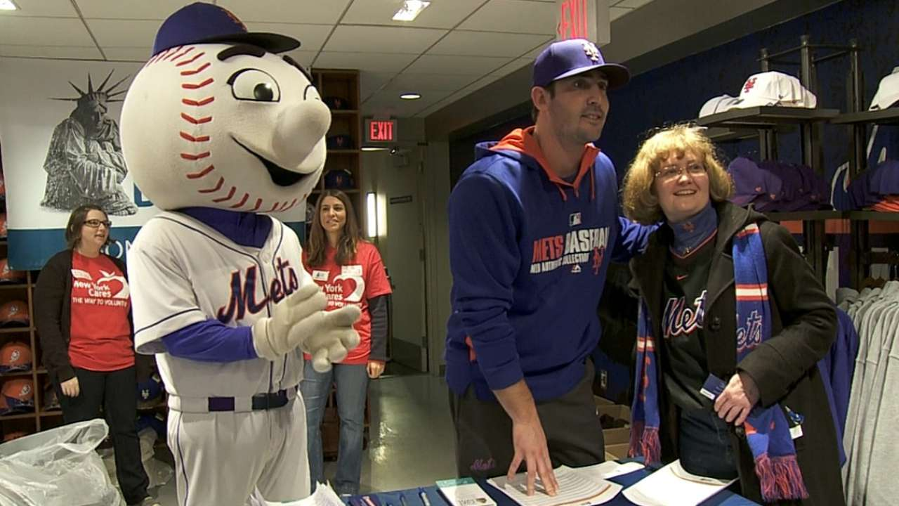 Mets' Holiday Coat Drive at Citi Field set for Dec. 1