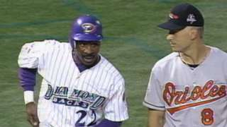1998 ASG: White legs out a triple against Colon