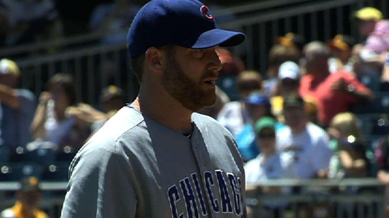 Dempster's final Cubs start