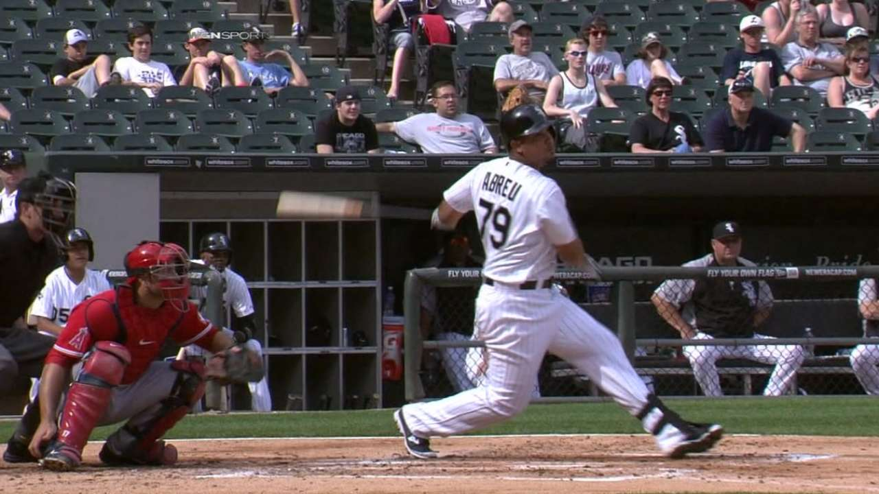 Abreu adds GIBBY to rookie year honors