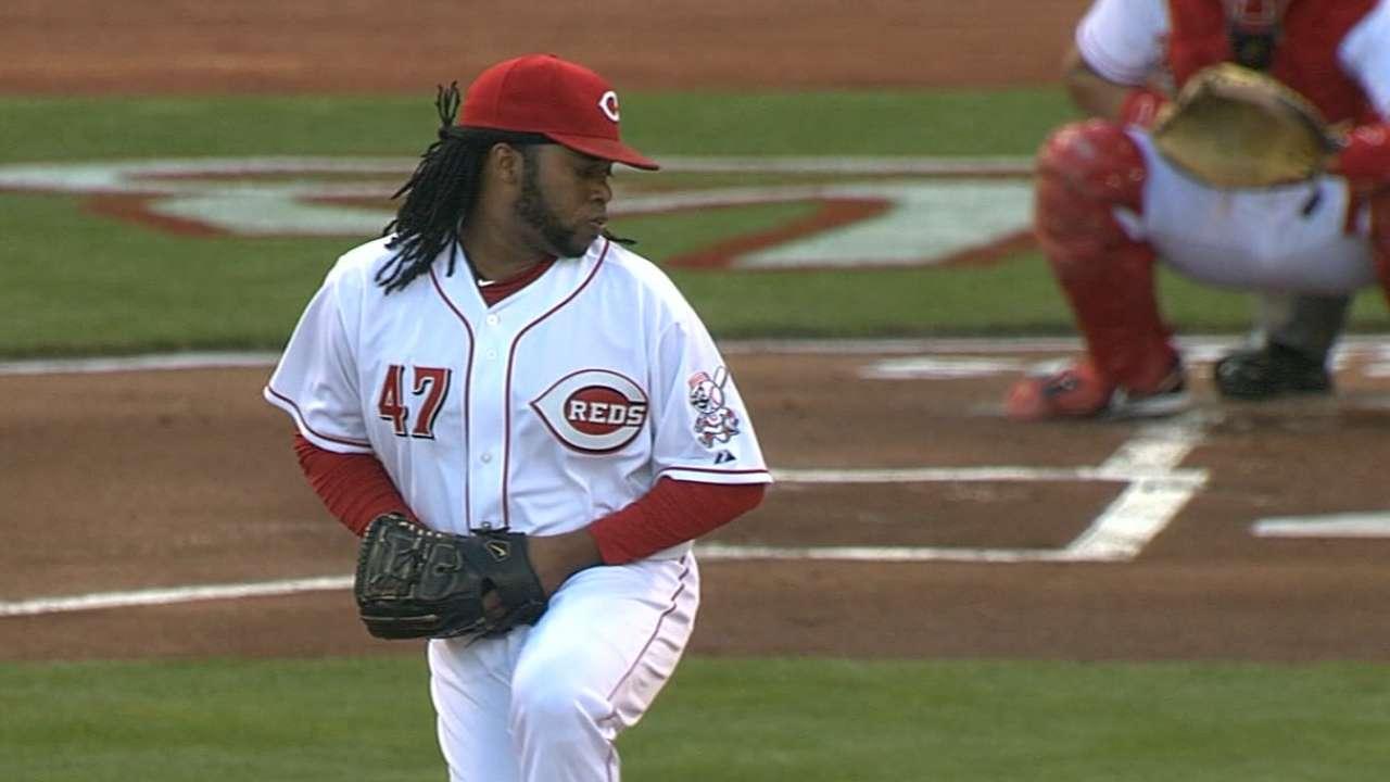 Cueto takes home MLB.com's GIBBY for Bounceback Player