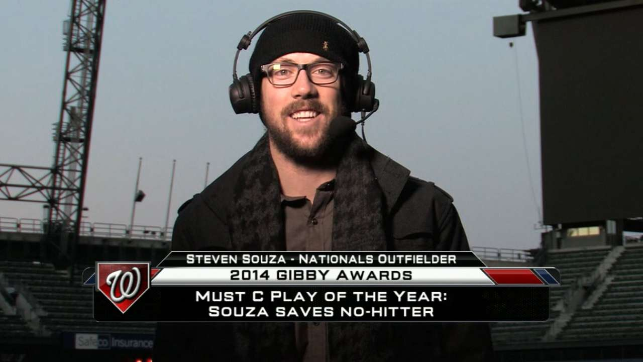 2014 GIBBYs winner: Souza
