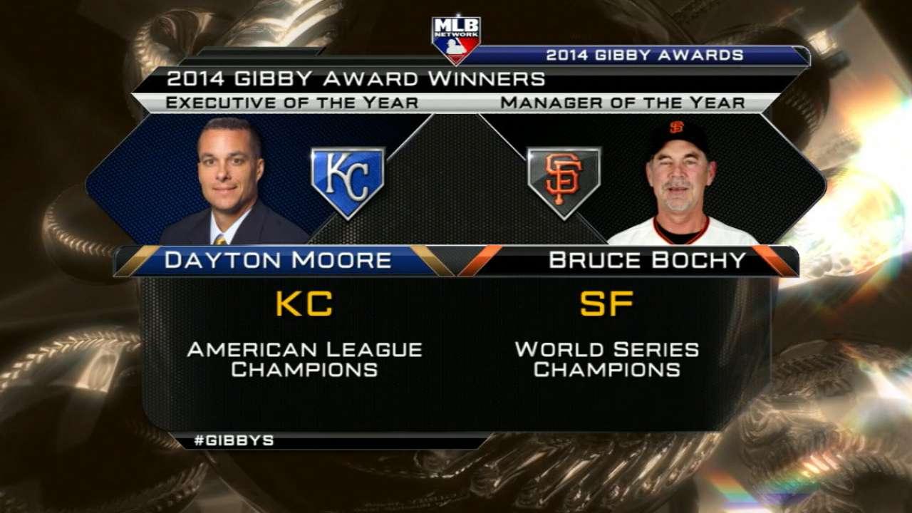 2014 GIBBYs winner: Moore, Bochy