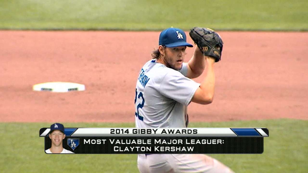 2014 GIBBYs winner: Kershaw