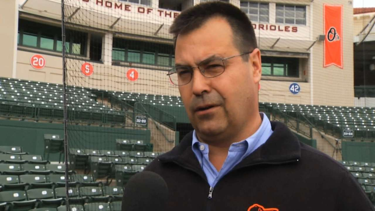 Duquette reportedly being considered for Blue Jays' post