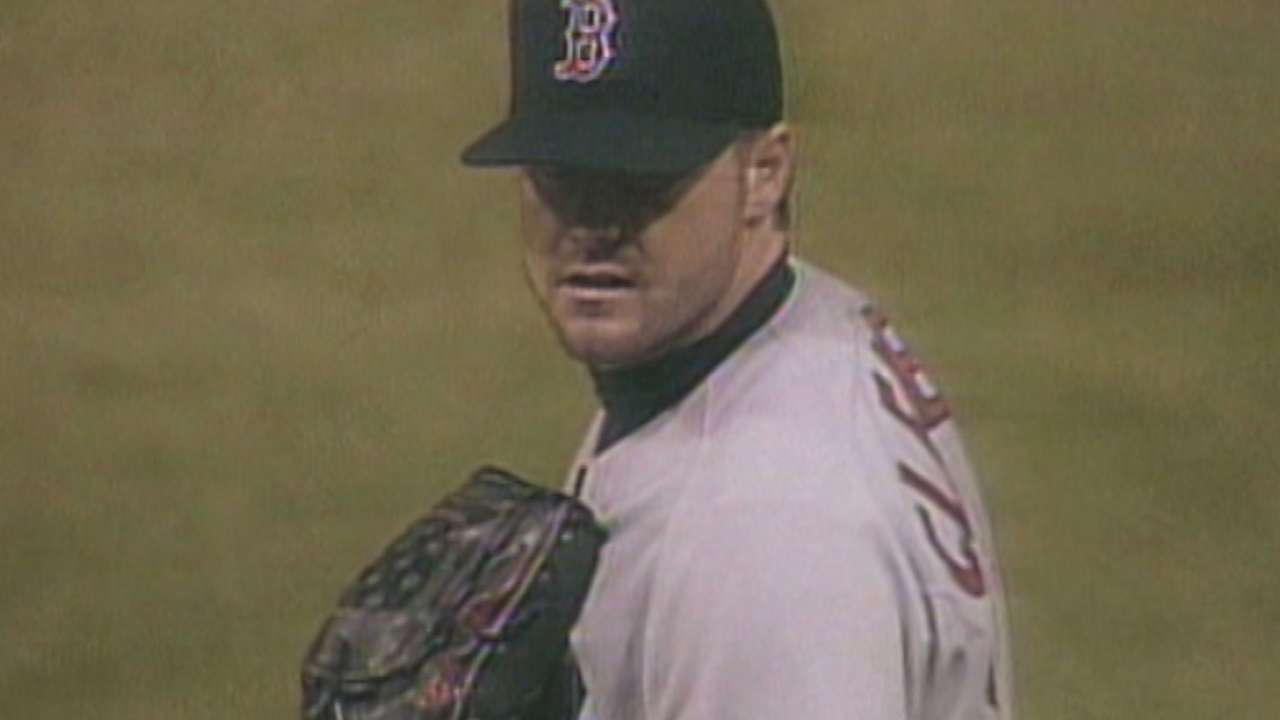 Clemens gets his 20th strikeout