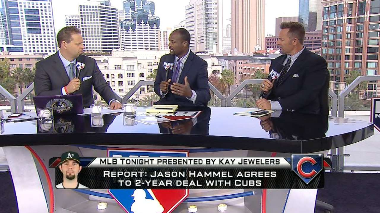 MLB Tonight on Hammel to Cubs