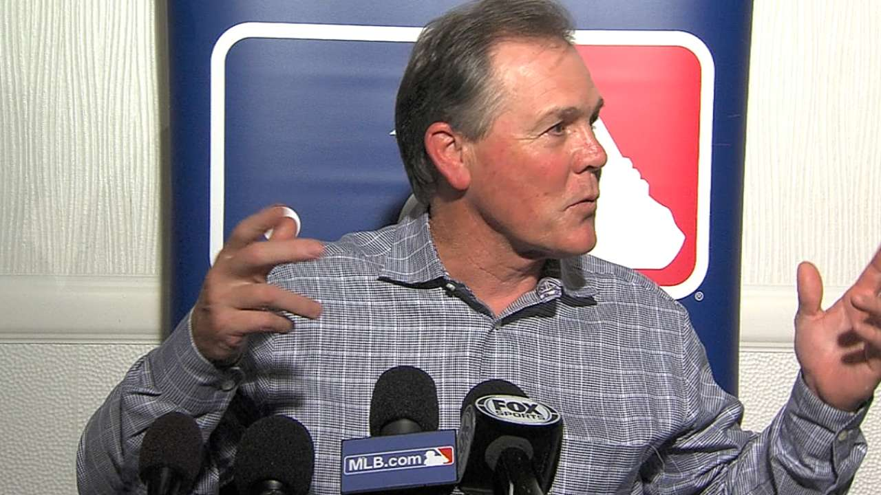 Yost excited as Royals retool for run in 2015