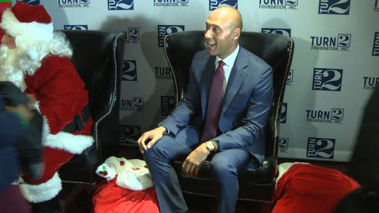NYC children receive holiday treat from Jeter