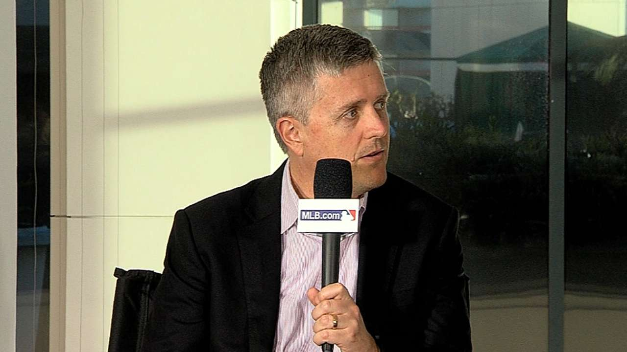 Luhnow 'optimistic' about improving Astros at Meetings