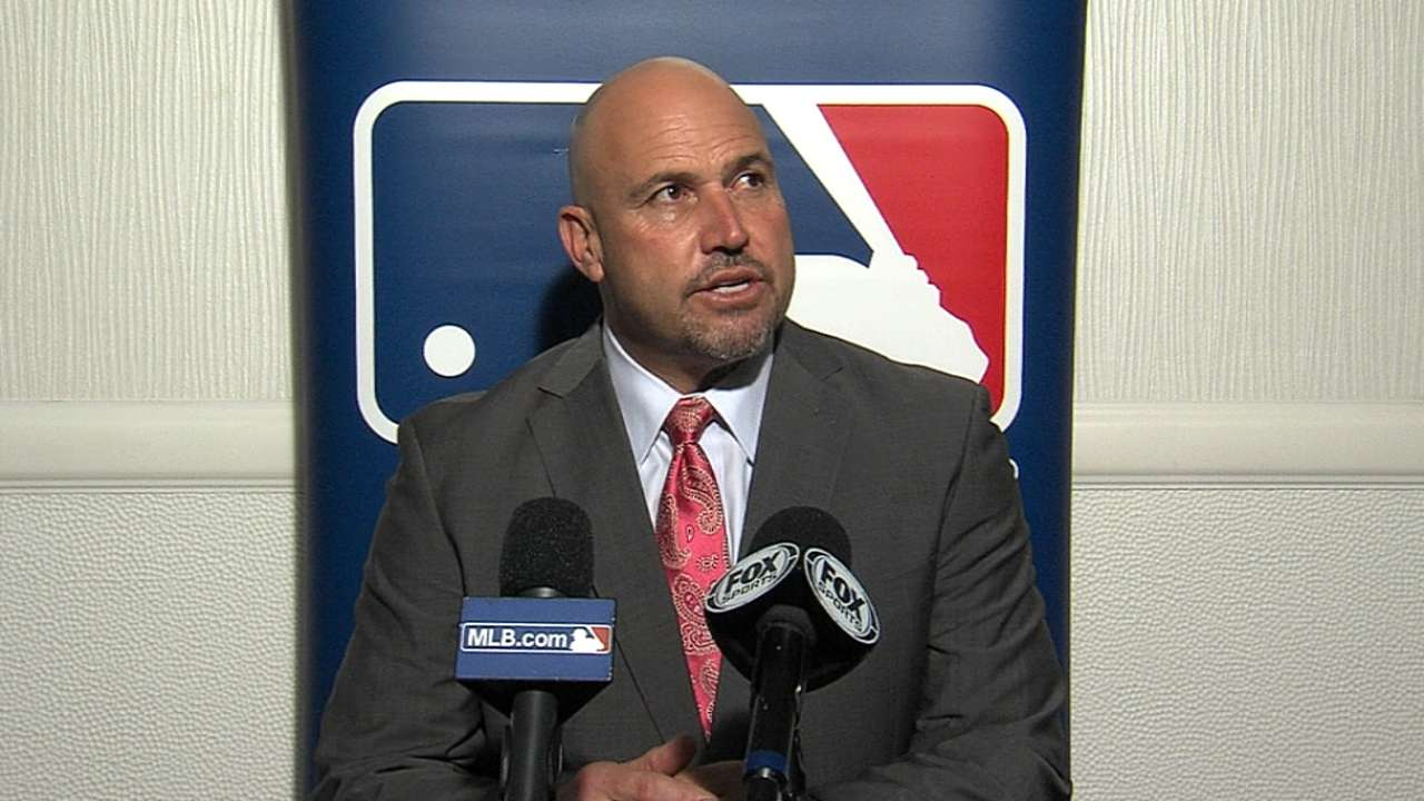 Despite moving pieces, Fredi likes makeup of Braves