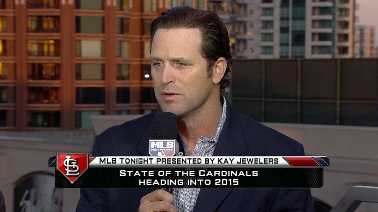 Matheny chats with MLB Tonight