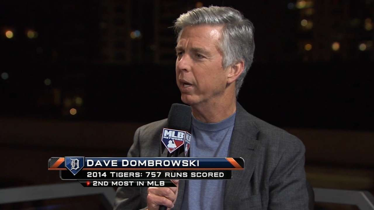 Dombrowski: No talks ongoing with Scherzer's camp