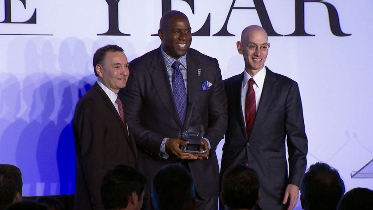 Magic Johnson on SI Legacy Award